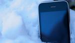phone-snow